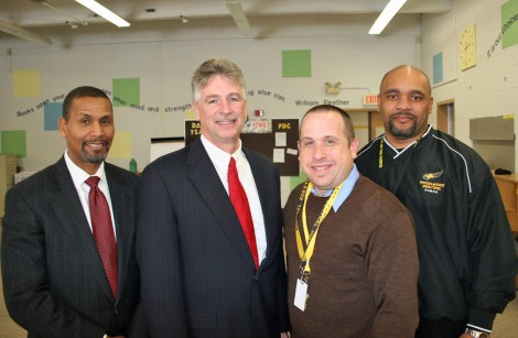 Michael Koester is the Hazelwood School District's 2010-2011 Teacher of the