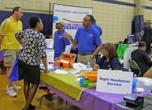 Patrons at the Business Showcase had the opportunity to talk face-to-face with local businesses about their products and services