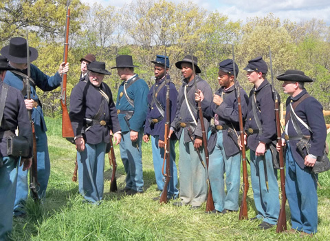 how to join a civil war reenactment group