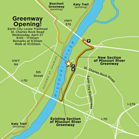 ECLT Greenway Opening Map1