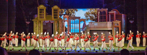 Music Man at the Muny until July 11