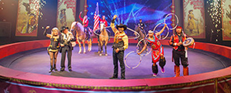 Silver Dollar City's Wild West Show performers