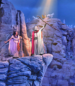 Moses at Sights and Sound in Branson