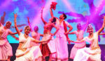 'Taj Express: The Bollywood Musical Review' performs at the Touhill Center this weekend on the campus at UM-St. Louis. This is a dance scene from the big production coming Mar. 31-Apr. 1.