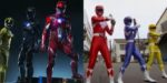 Power Rangers Now vs Then