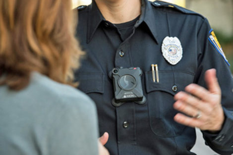 Body-worn cameras as depicted in this photo will be the subject of the Hazelwood Police Dept. community meeting on Monday, July 24.