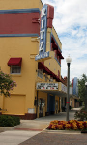 The Ritz Theatre plays cinema classics such as Sunset Blvd. (Bob Lindsey photo)