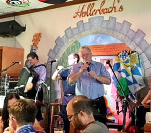 OMP PAH PAH? takes center stage at Hollerbach's Willow Tree Cafe.