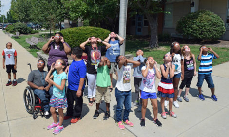 viewing eclipse at school pg 1