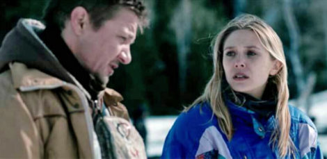 Jeremy Renner and Elizabeth Olsen star in Wind River