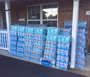 Water Collected for Harvey