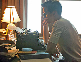 "Nicholas Hoult portrays writer J.D. Salinger in the film about his life ""Rebel in the Rye."""