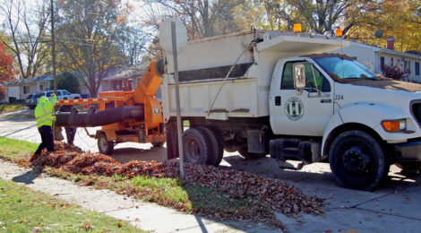 HAZELWOOD FREE FALL LEAF COLLECTION FOR RESIDENTS – The City of Hazelwood will be starting its annual Fall Leaf Collection Program for residents on October 16. A list showing which streets are assigned to each pick-up week can be found in the Fall 2017 Parks & Recreation Activity Guide or on the City's website at: www.hazelwoodmo.org. Residents are asked to rake their leaves to the curb on the weekend before their designed pick-up week.