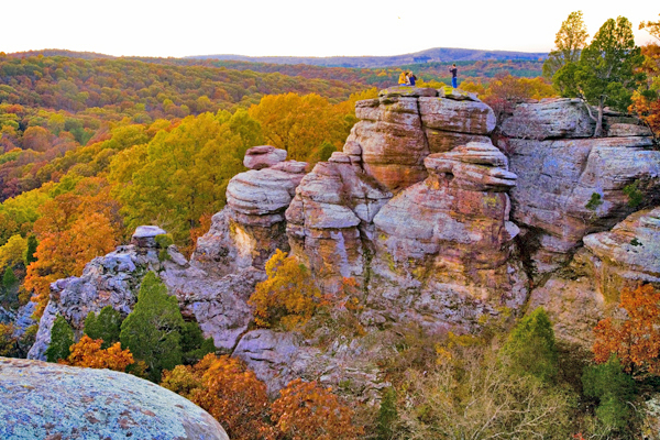 Illinois Ozarks Are Found In Southernmost Part Of The