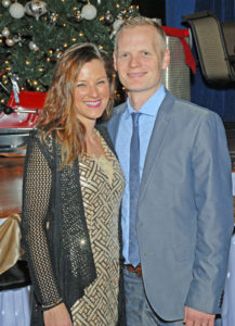 Nathan and Christina Bennett, owners of Hendel's Café in Florissant, were named Business Person of the Year.
